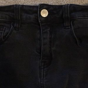 RARE brandy Melville black jeans